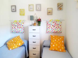Dormitorio España Costa Azahar Oropesa del mar Apartamentos Galicia 3000