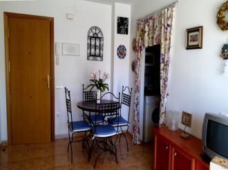 Salón comedor España Costa Azahar Oropesa del mar Apartamentos Galicia 3000