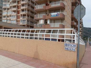 Fachada Invierno Apartamentos Galicia 3000 Oropesa del mar
