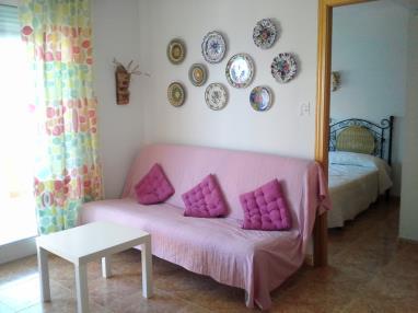 Salón comedor Apartamentos Galicia 3000 Oropesa del mar