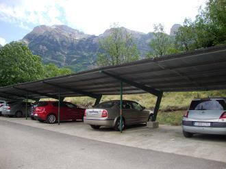 Garage  Espagne Pyrenées Aragonaises BIESCAS Complejo Bubal Formigal 3000
