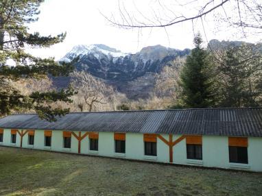 Fachada Invierno España Pirineo Aragonés Biescas Complejo Bubal Formigal 3000
