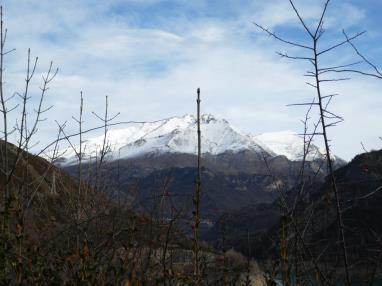 Vistas España Pirineo Aragonés Biescas Complejo Bubal Formigal 3000