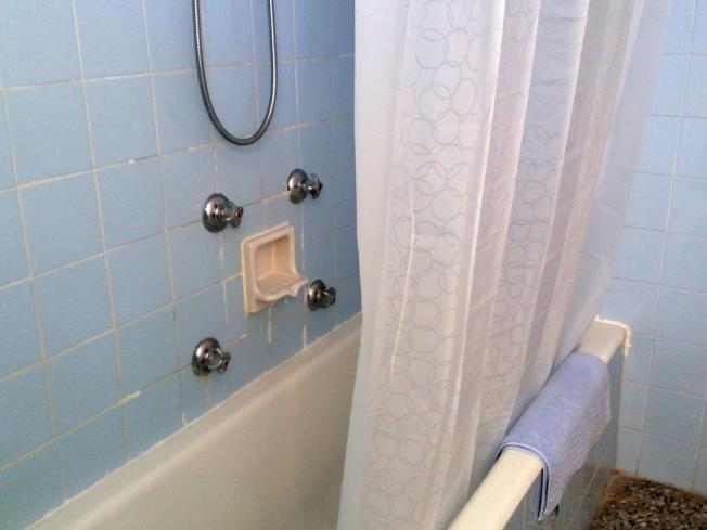 Baño Apartamentos Gandía Primera Línea de Playa 3000 Gandia