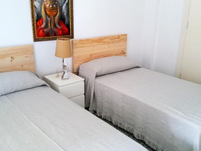 Dormitorio Apartamentos Gandía Primera Línea de Playa 3000 Gandia