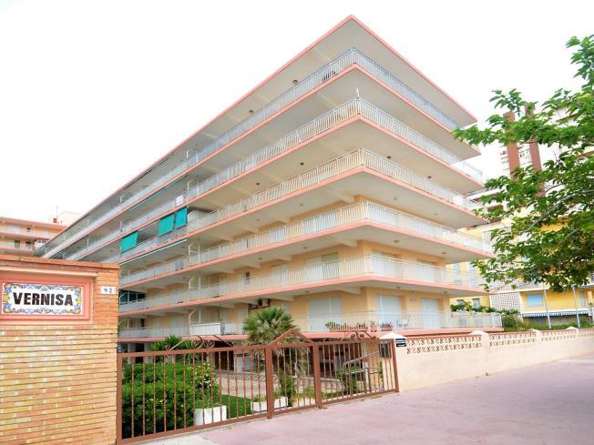 Fachada Verano Apartamentos Gandía Primera Línea de Playa 3000 Gandia