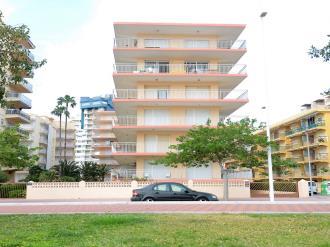 Fachada Verano España Costa de Valencia Gandia Apartamentos Gandía Primera Línea de Playa 3000