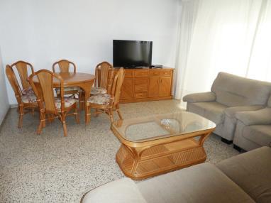 Salón comedor España Costa de Valencia Gandia Apartamentos Gandía Primera Línea de Playa 3000