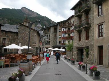 Pueblo de Ordino Andorre Vallnord ARANS