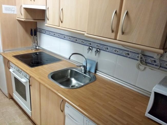 Cocina Apartamentos Villanua 3000 Villanua