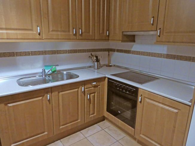 Kitchen Appartements Villanua 3000 VILLANUA