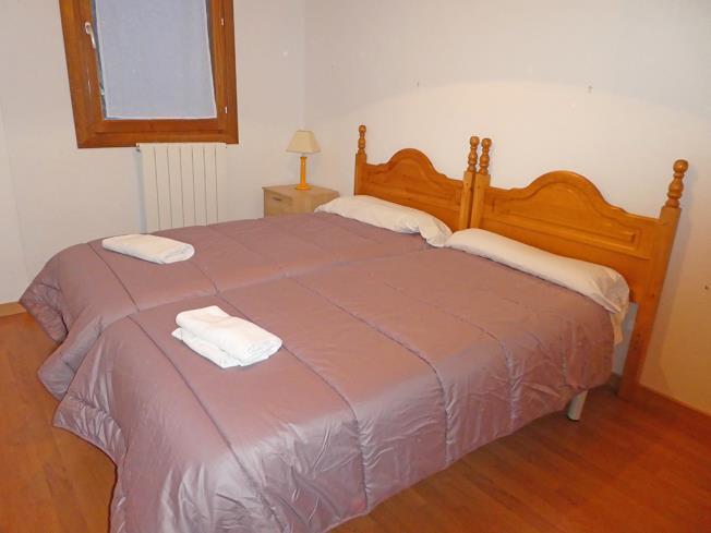 Dormitorio Apartamentos Villanua 3000 Villanua