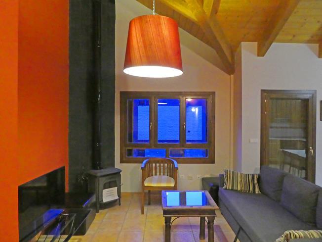 Salón comedor Apartamentos Villanua 3000 Villanua