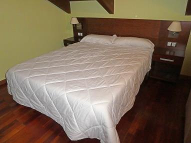 Dormitorio España Pirineo Aragonés Villanua Apartamentos Villanua 3000