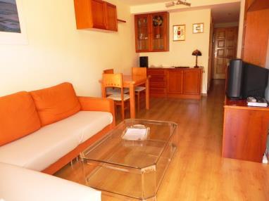 Salón España Pirineo Aragonés Villanua Apartamentos Villanua 3000