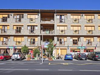 Façade Winte Andorre Vallnord ARANS Hotel Antic 3000