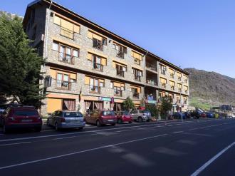 Façade Summer Andorre Vallnord ARANS Hotel Antic 3000