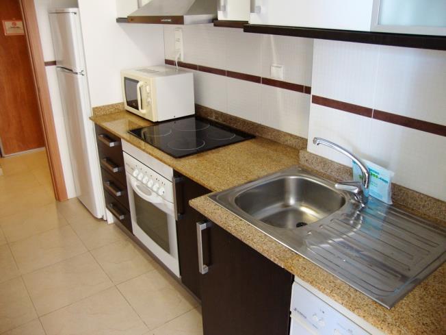 Cocina Apartamentos Mondrían Marina Dor 3000 Oropesa del mar