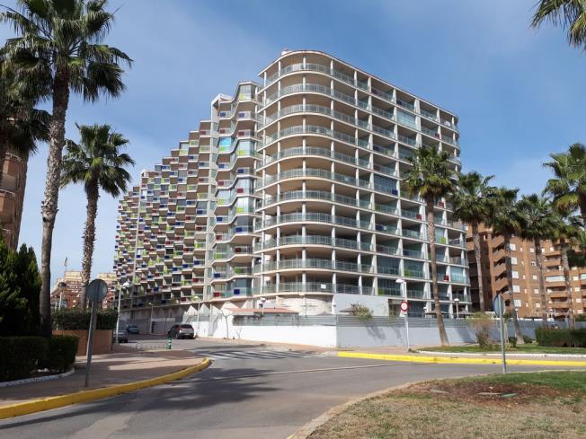 Fachada Invierno Apartamentos Mondrían Marina Dor 3000 Oropesa del mar