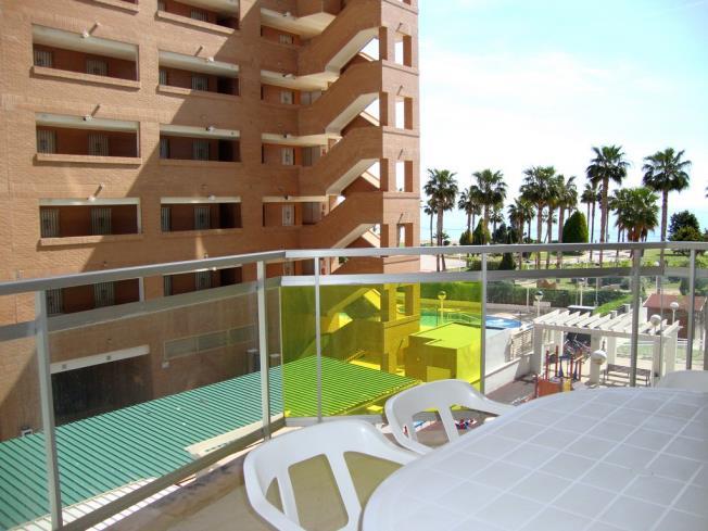 Terraza Apartamentos Mondrían Marina Dor 3000 Oropesa del mar