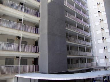 Fachada Invierno España Costa Azahar Oropesa del mar Apartamentos Mondrían Marina Dor 3000
