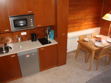 Cocina Andorra Estación Grandvalira Soldeu Apartamentos La pleta Incles  Suites 3000