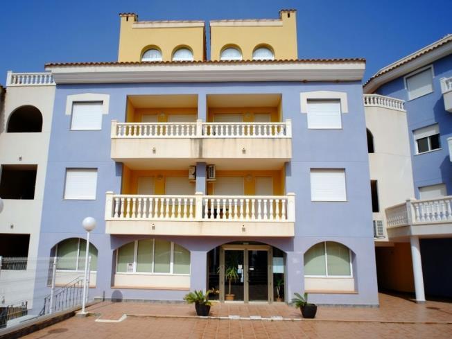 Fachada Invierno Apartamentos Marcomar 3000 Alcoceber