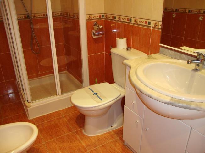 Baño Apartamentos Marcomar 3000 Alcoceber