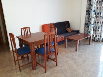 Salón comedor España Costa Azahar Alcoceber Apartamentos Marcomar 3000