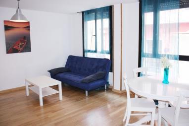 Salón comedor España Zaragoza Zaragoza Apartamentos Rodriguez de Córdoba 3000