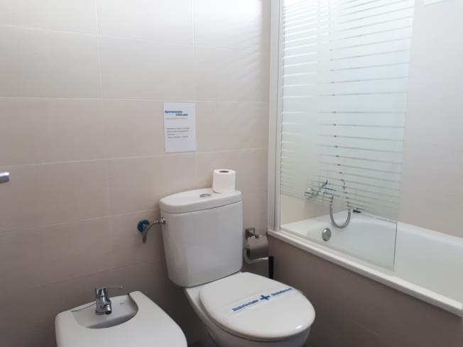 Baño Apartamentos Residencial Doña Carmen 3000 Oropesa del mar