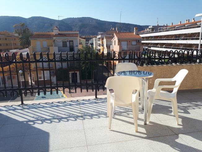 Terraza Apartamentos Residencial Doña Carmen 3000 Oropesa del mar