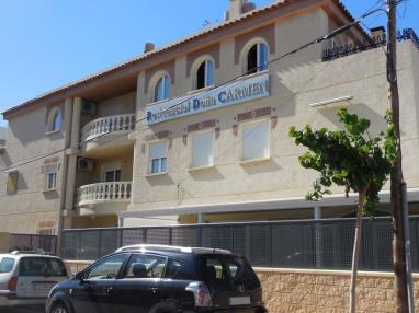 Fachada Verano España Costa Azahar Oropesa del mar Apartamentos Residencial Doña Carmen 3000