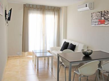 Salón comedor España Costa Azahar Oropesa del mar Apartamentos Residencial Doña Carmen 3000