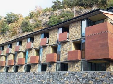 Fachada Verano Andorra Andorra Zona Centro Sant Julia de Loria Apartamentos Cibós 3000
