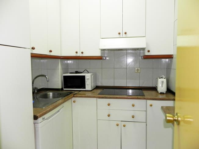 Kitchen Appartements Candanchu 3000 CANDANCHU