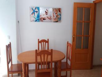 Salón comedor España Costa Azahar Oropesa del mar Apartamentos Oropesa 3000 Sin Piscina