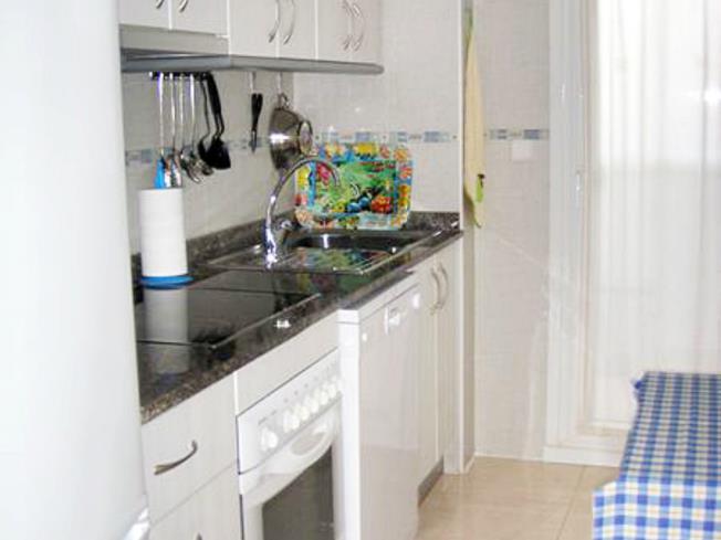 Kitchen Appartements Nova Vita 3000 ALCOSSEBRE