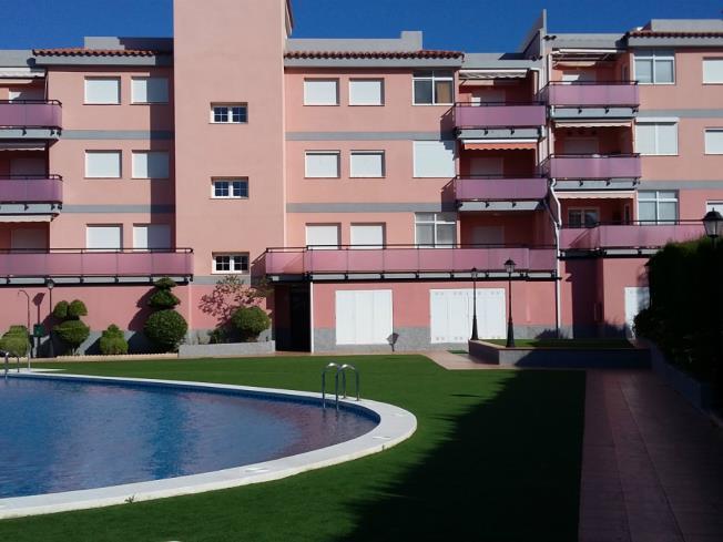 Piscina Apartamentos Nova Vita 3000 Alcoceber