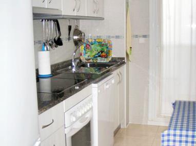 Cocina Apartamentos Nova Vita 3000 Alcoceber