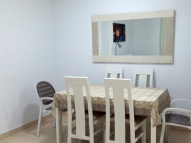 Salón comedor España Costa Azahar Alcoceber Apartamentos Nova Vita 3000
