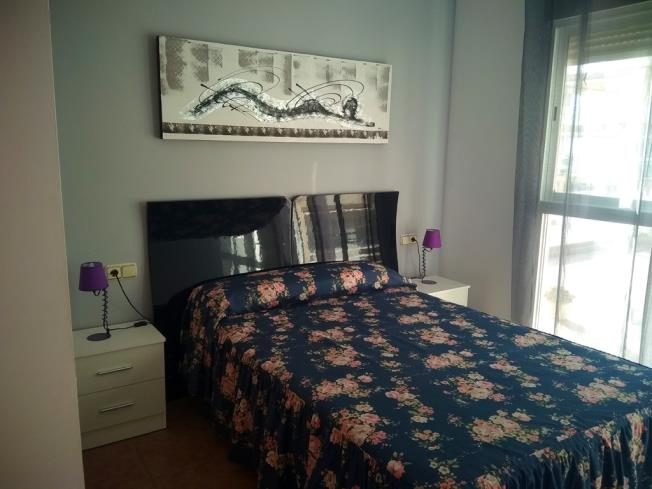 Dormitorio Apartamentos Argenta-Caleta 3000 Peñiscola