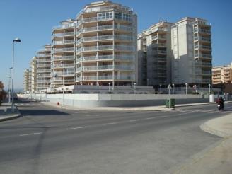 Façade Winte Espagne Costa del Azahar PENISCOLA Appartements Argenta/Caleta 3000
