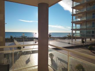 Balcony Espagne Costa del Azahar PENISCOLA Appartements Argenta/Caleta 3000