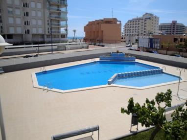 Piscina España Costa Azahar Peñiscola Apartamentos Argenta-Caleta 3000
