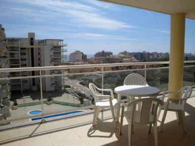Terraza España Costa Azahar Peñiscola Apartamentos Argenta-Caleta 3000