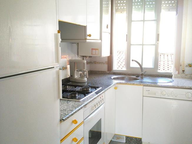 Cocina Apartamentos Sanxenxo 3000 Sanxenxo/Sangenjo