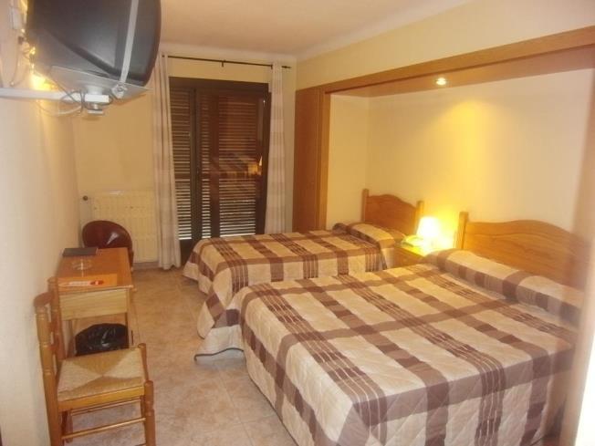 Dormitorio Hotel Barcelona 3000 Sant Julia de Loria
