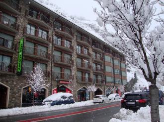 Façade Winte Andorre Grandvalira CANILLO Appartements Canillo Pie de Pistas 3000