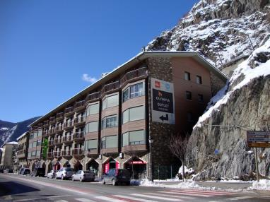 Façade Winte Appartements Canillo Pie de Pistas 3000 CANILLO